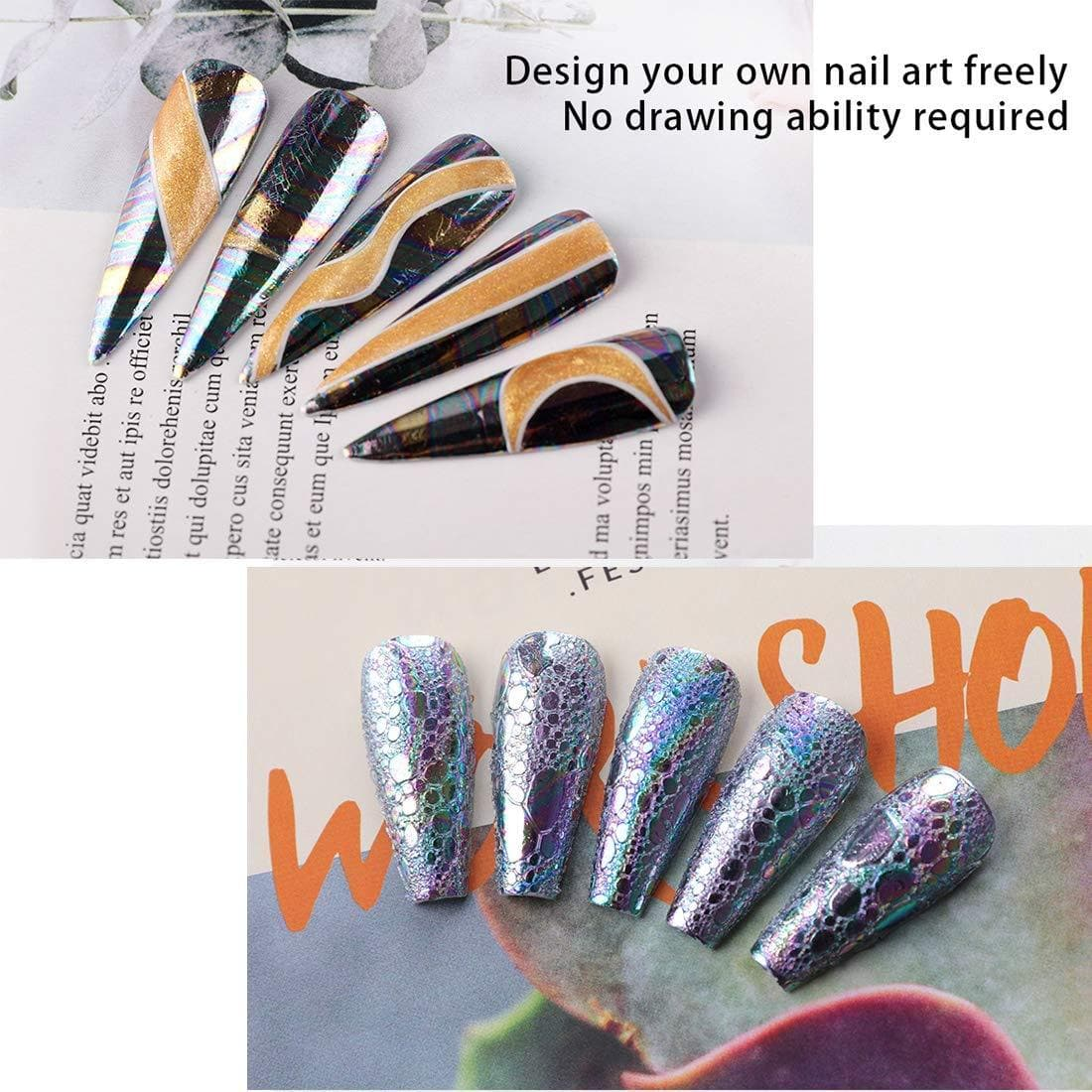 15ml Nail Art Foil Glue Gel - Makartt