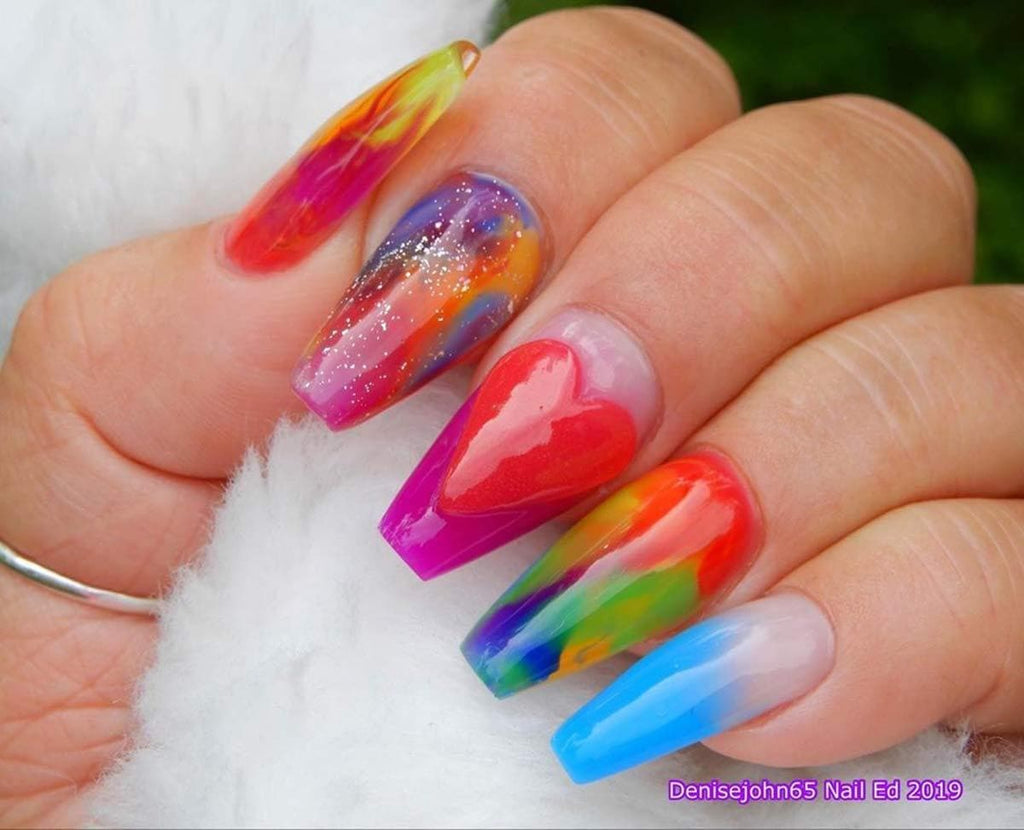Rainbow Collection Poly Nail Gel Extension Kit