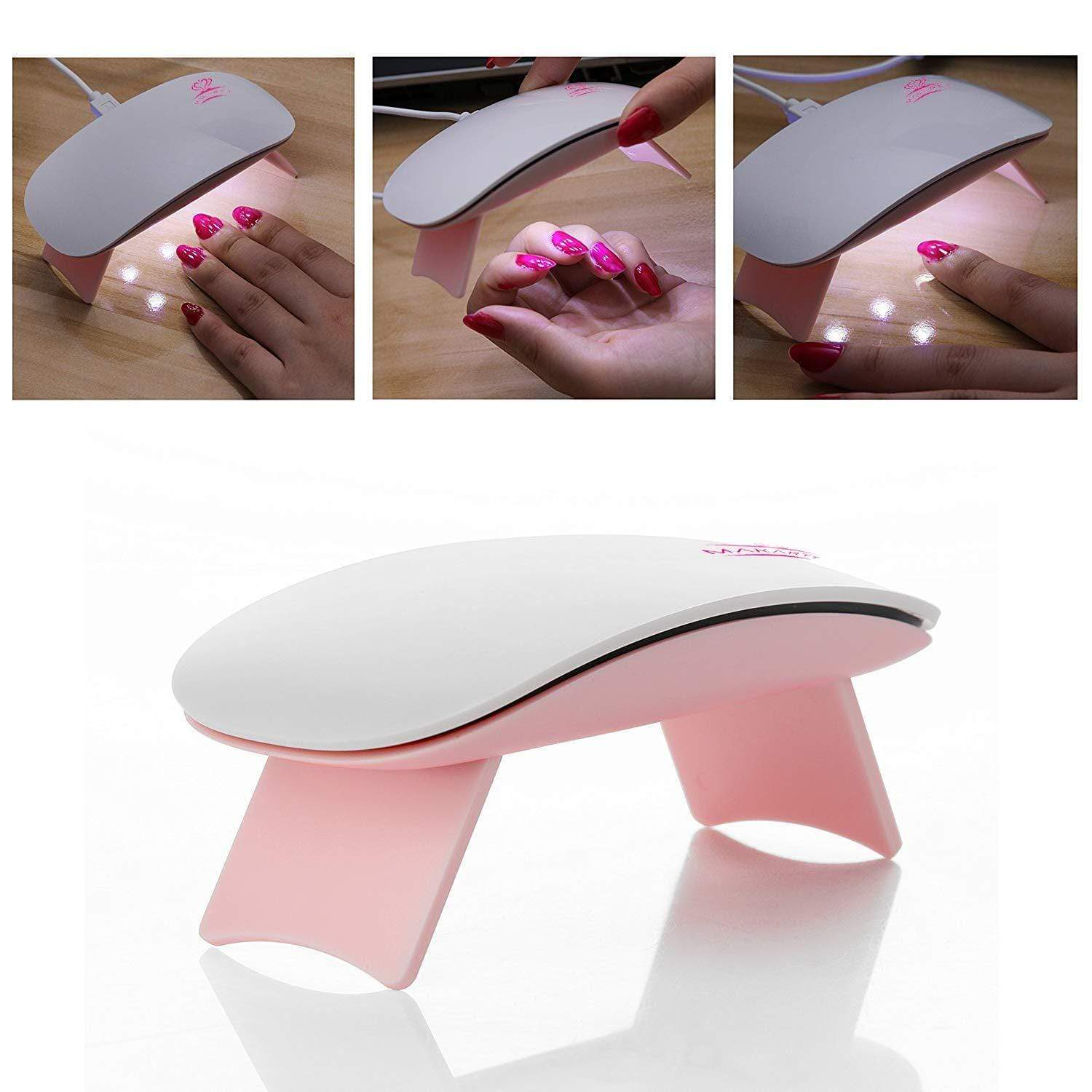 Mini Portable USB LED UV Nail Curing Lamp - Makartt
