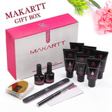 New Formula Poly Nail Extension Gel Kit in Light Blush (No Slip Solution Needed) - Makartt