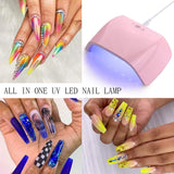 18W LED UV Portable Nail Lamp - Makartt