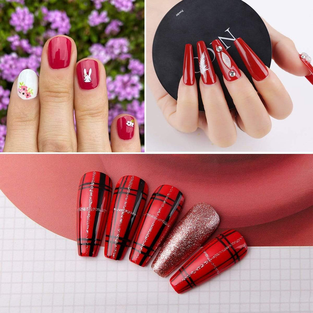 #GirlBoss Red Gel Polish Set