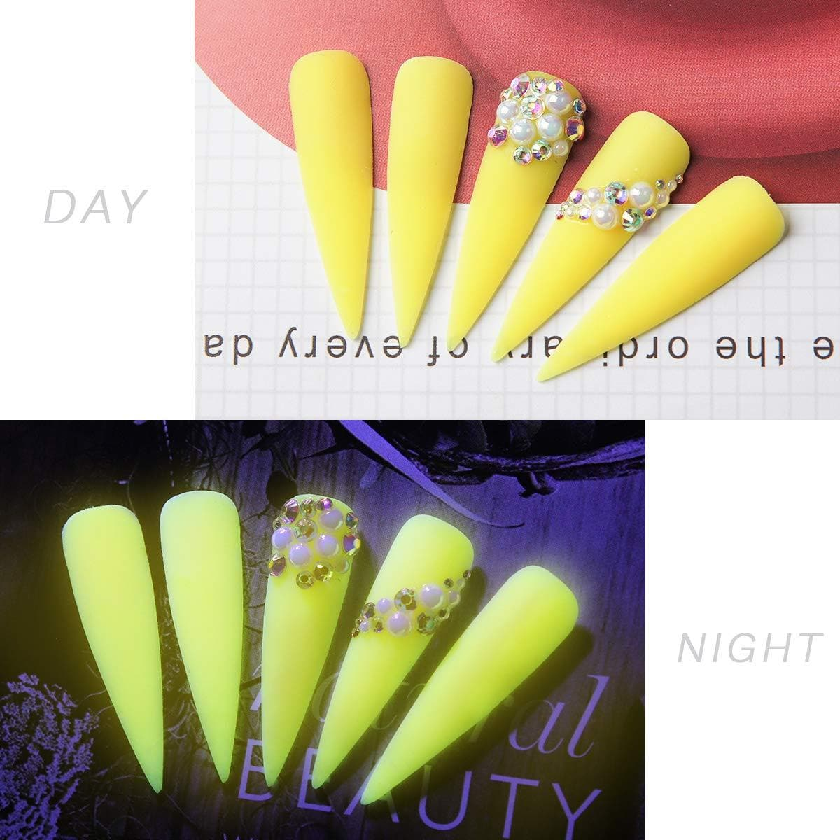 Glow-in-the-Dark Poly Gel Extension Kit - Makartt