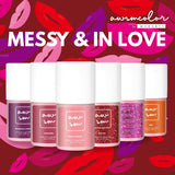 Messy & In Love 6 Color Gel Polish Set
