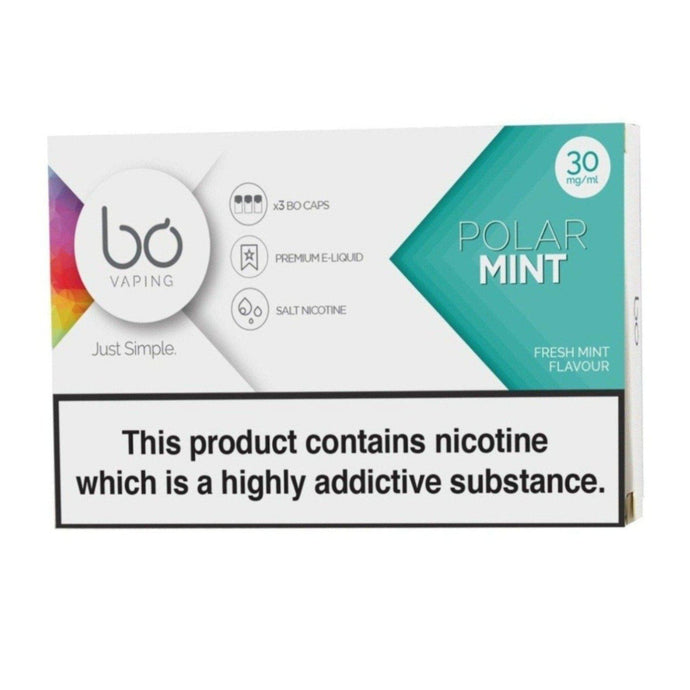 BO Caps Polar Mint - PodVapes