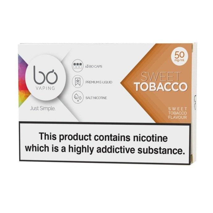 BO Caps Sweet Tobacco - PodVapes