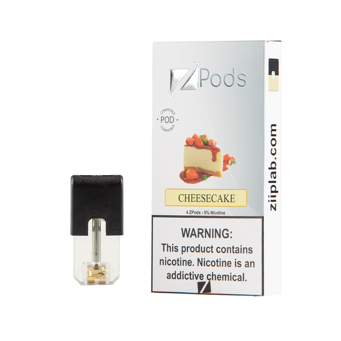 ZiiP J Pods – Cheesecake