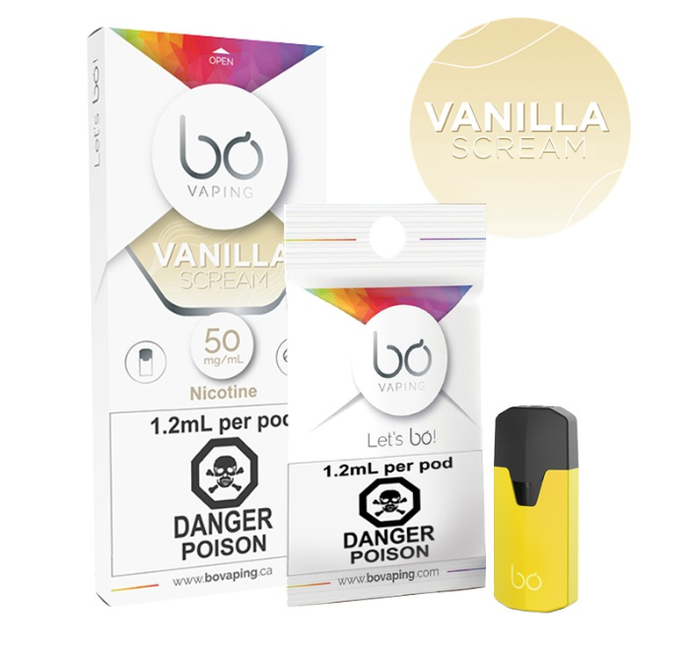BO Vanilla Scream Pods-PodVapes™ Australia