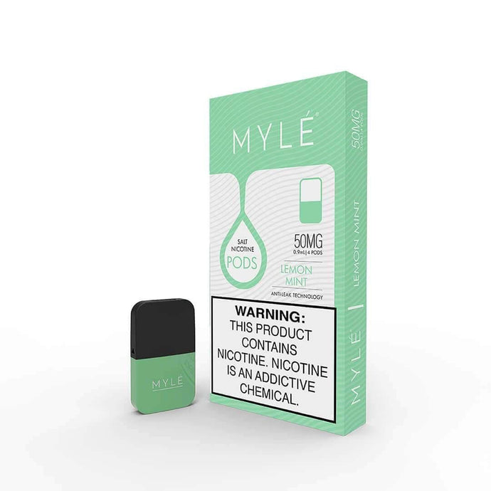 MYLÉ Pods: V4 Lemon Mint
