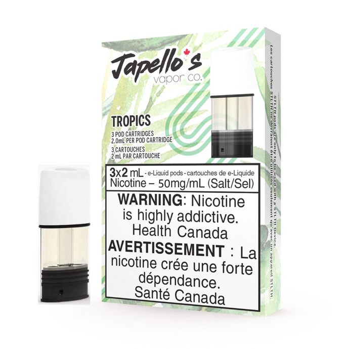 STLTH Flavours: Japello Tropics Pods