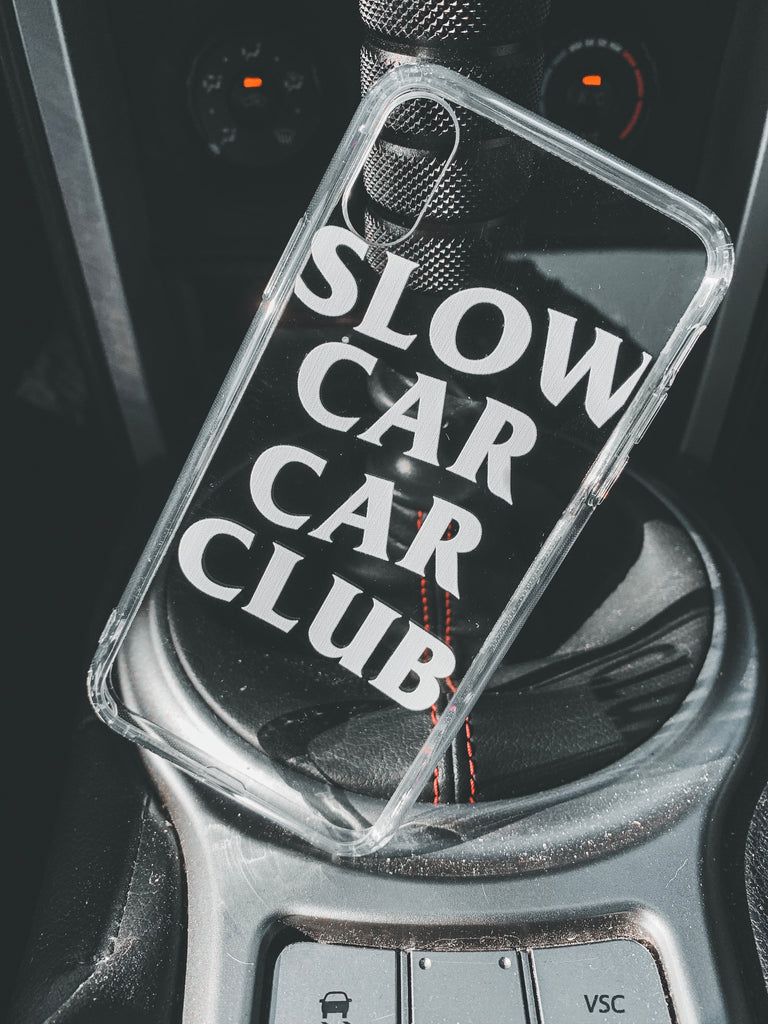 SLOW CAR IPHONE CASE