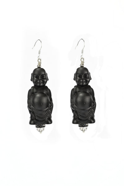 Armor - Laughing Buddha Earrings (Standard)
