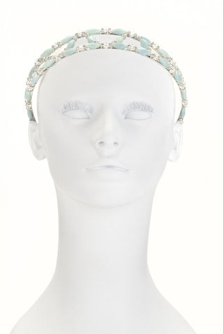 Amazonite Tiara Headband