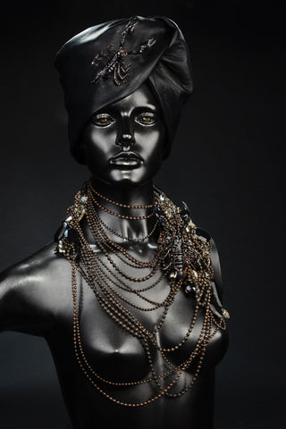 Scorpion Necklace & Turban