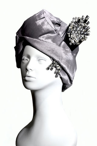 Custom Art Deco Turban Collaboration