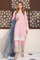 Pink, Grays Blue Embroidered Suit 2456 (3-piece)