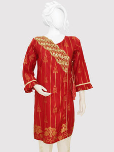 Embroidered Jacquard Shirt 2318