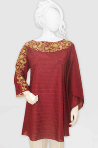 Embroidered Jacquard Shirt 2375