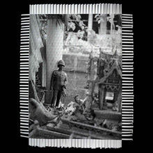 Load image into Gallery viewer, BAZAAR - WOVEN PHOTOGRAPH