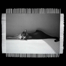 Load image into Gallery viewer, AFTERNOON RELAX - WOVEN PHOTOGRAPH