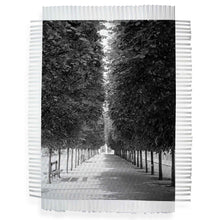Load image into Gallery viewer, LINED TREES - WOVEN PHOTOGRAPH