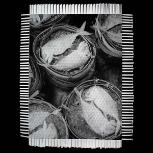 DRY FISH - WOVEN PHOTOGRAPH