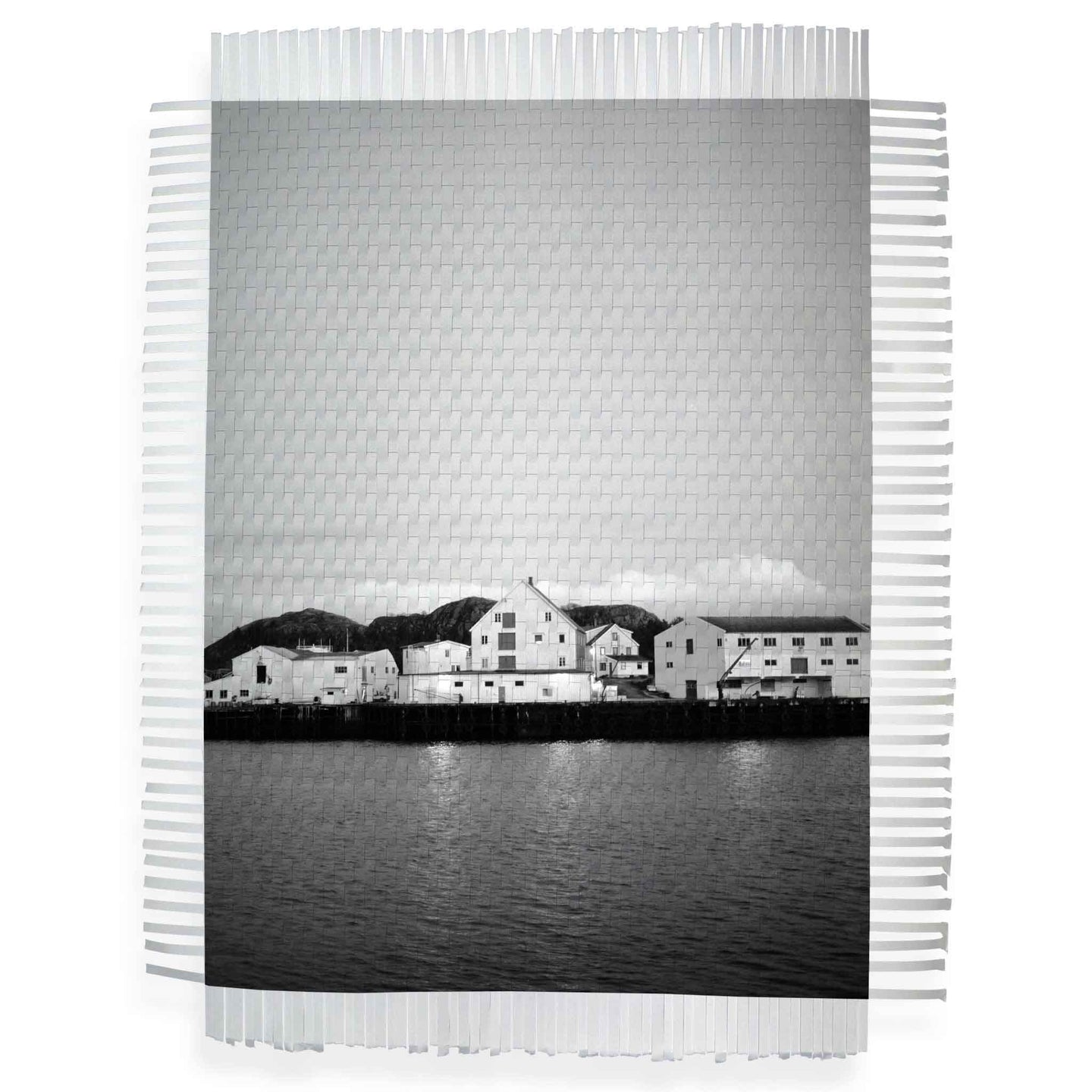 BY THE WATER - WOVEN PHOTOGRAPH