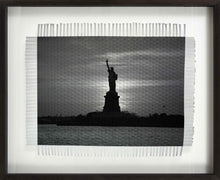 Load image into Gallery viewer, WELCOME TO AMERICA - WOVEN PHOTOGRAPH