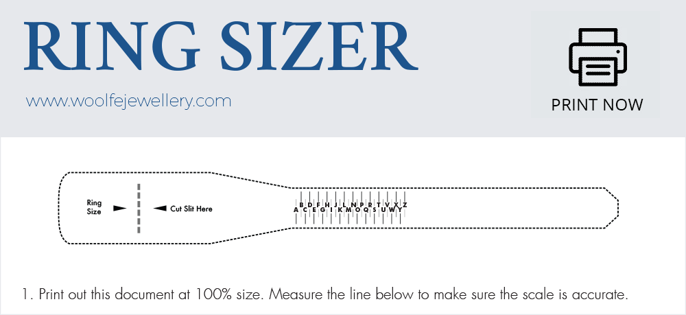 photograph regarding Printable Mens Ring Size Chart referred to as Locate your Ring Finger Sizing - our in depth consultant