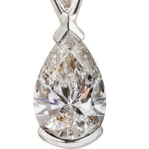 Victoria Pear Shape Diamond Pendant