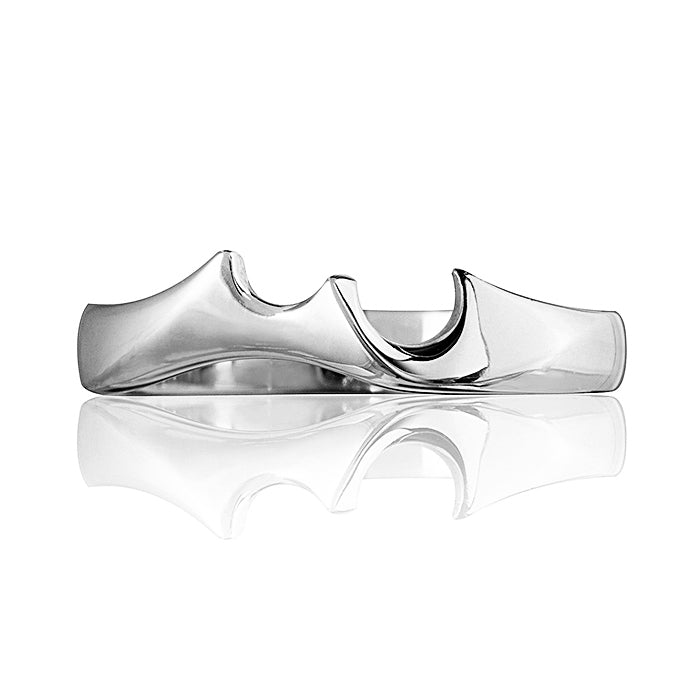 Celebration Wedding Ring - White Gold