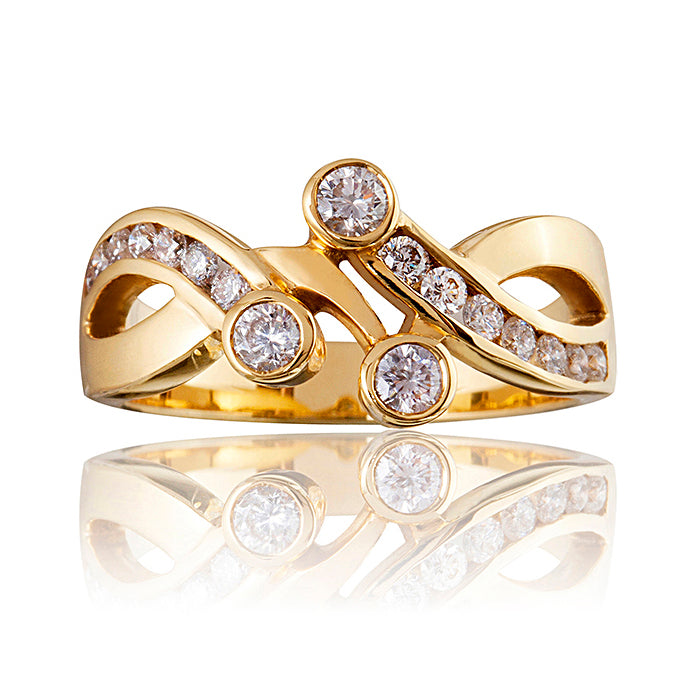Celebration Diamond Engagement & Wedding Ring Set