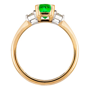 Livingstone Emerald & Diamond Ring