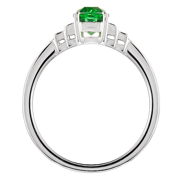 Harrogate Tsavorite Garnet & Diamond Ring