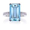 Guildford Aquamarine & Diamond Ring