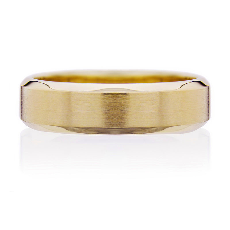 Highgate Gents Wedding Ring - Yellow Gold