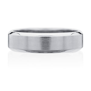 Highgate Gents Wedding Ring - Platinum