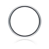 Highgate Gents Wedding Ring - White Gold