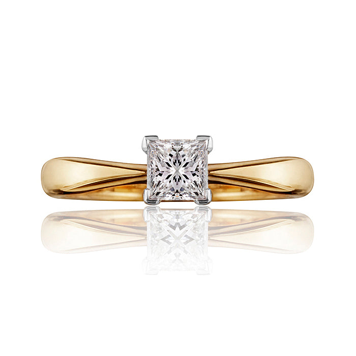 Classic Princess Cut Diamond Ring