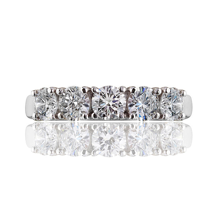 Symphony Diamond Band Ring