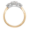 Classic Trilogy Three Stone Diamond Ring