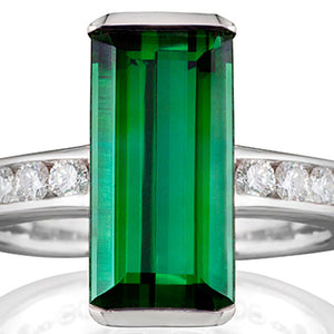 Guildford Tourmaline & Diamond Ring