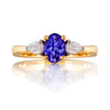 Harrogate Tanzanite & Diamond Ring