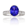 Guildford Tanzanite & Diamond Ring