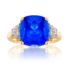 Marlborough Sapphire & Diamond Ring