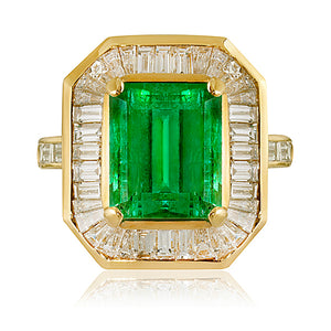 Highclere Emerald & Diamond Ring