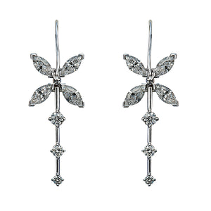 Fauna Diamond Earrings
