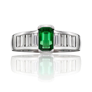 Marlborough Emerald & Diamond Ring