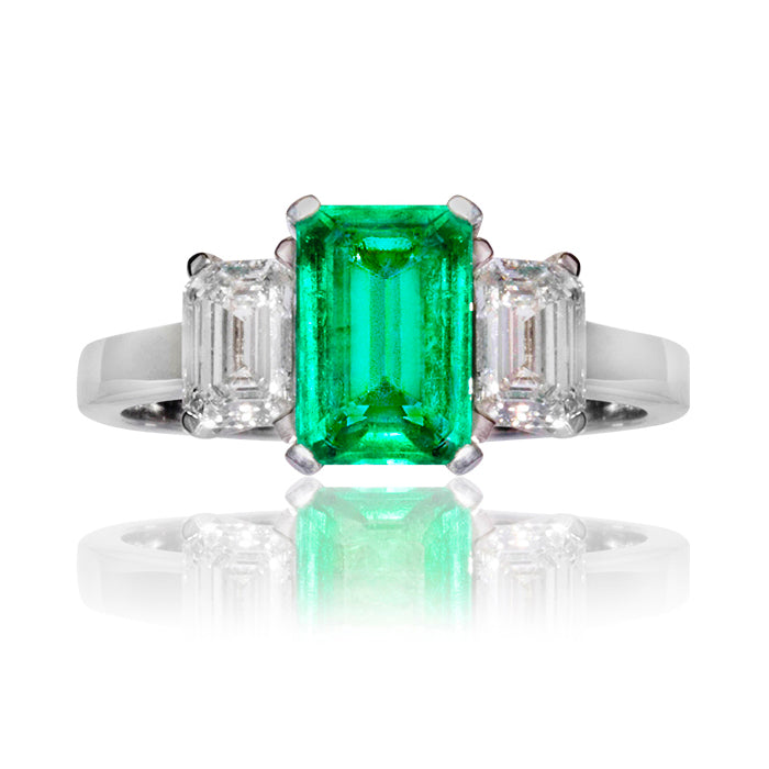 Warwick Emerald & Diamond Ring