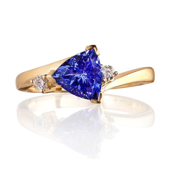 Constellation Tanzanite & Diamond Ring